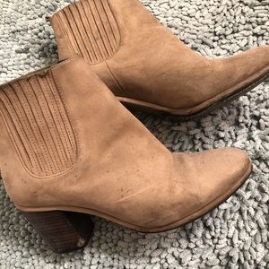 Opening Ceremony Beige Booties